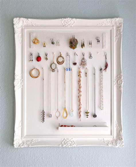jewelry organization ideas 15 creative and easy diy jewelry storage ideas style