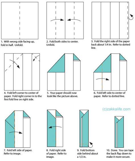 origami holder printable origami chopstick holder zakka