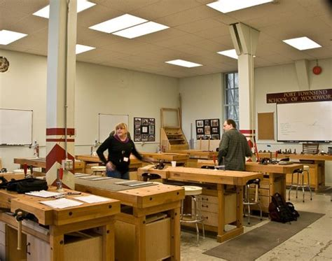 school of woodworking organizations my port townsend