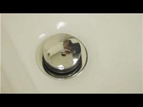 Sink Drain Stuck by Bathroom Repair How To Repair A Pop Up Tub Drain Stopper