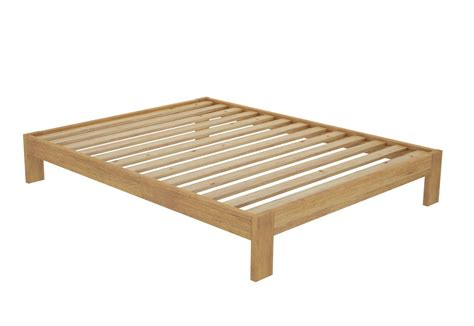 no frame bed california timber bed frame without headboard