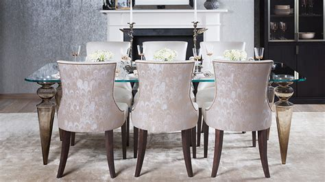 Luxury Dining Room Chairs luxury upholstered dining chairs designed and handmade in