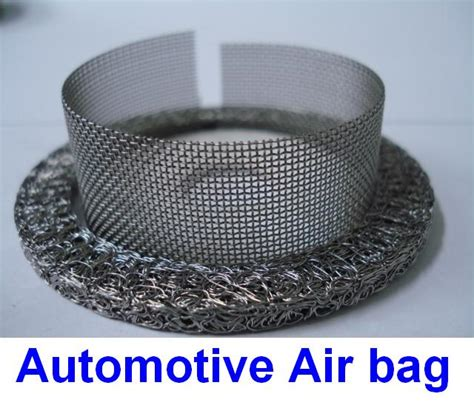knitted wire mesh industrial knitted wire mesh products automobile