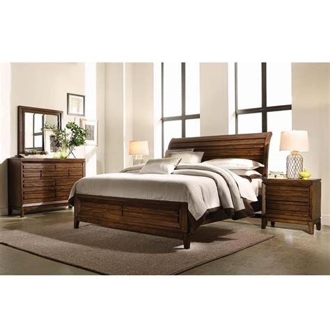 nebraska furniture mart bedroom sets 4 king bedroom set in cinnamon walnut nebraska