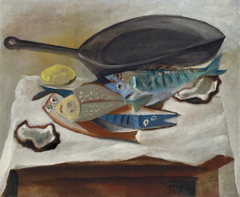 picasso paintings fish thunderstruck pablo picasso 1881 1973 nature