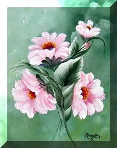 one stroke flowers painting hildesheim s one stroke painting one stroke