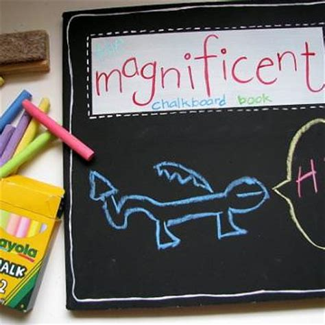 diy chalkboard for toddlers diy chalkboard books for tip junkie
