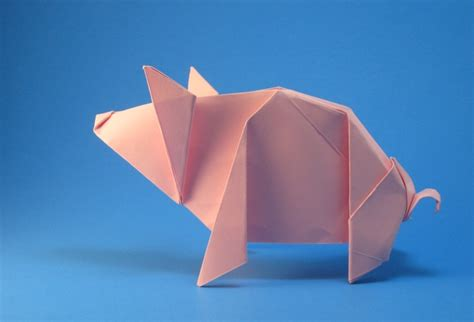 dollar origami pig ultimate origami for beginners by michael g lafosse and