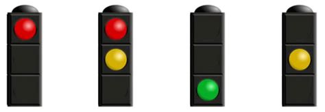 sequence lights toucan crossing driving test tips