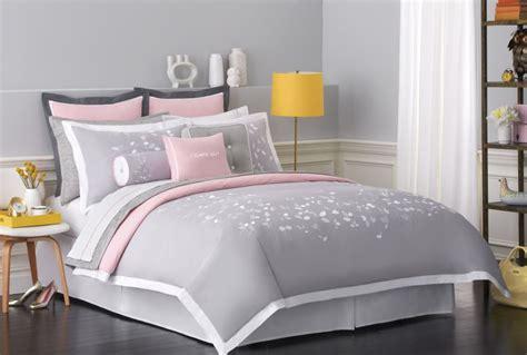 pink and grey bed sets kate spade new york bedding giveaway frugal novice