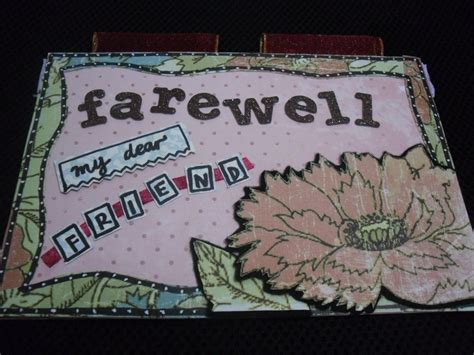 how to make a farewell card handmade invitation cards for farewell images