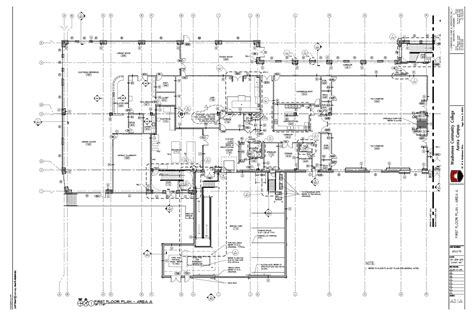 construction floor plan floor plan construction drawing exle construction