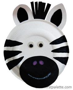 zebra paper plate craft 1000 ideas about zebra craft on hippo crafts
