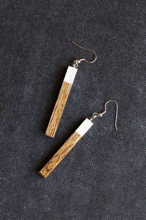 wood for jewelry how to make wooden earrings