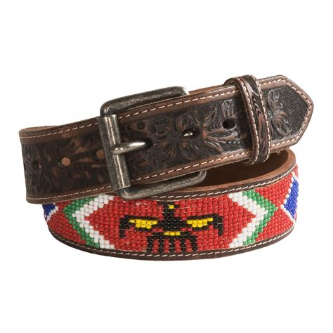 mens beaded belts beaded leather belts for images