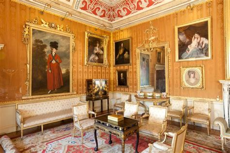 Country Dining Room Ideas cinnamon drawing room harewood house