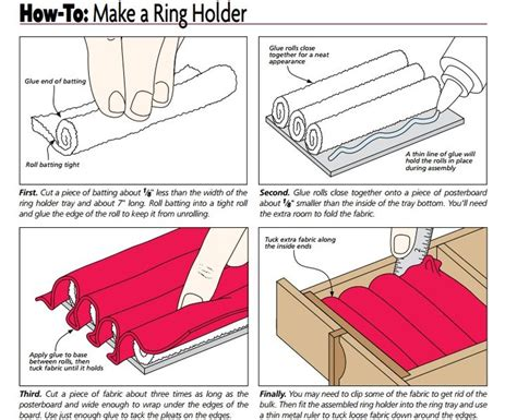 how to make a ring holder for a jewelry box 25 unique diy jewelry box ideas on diy