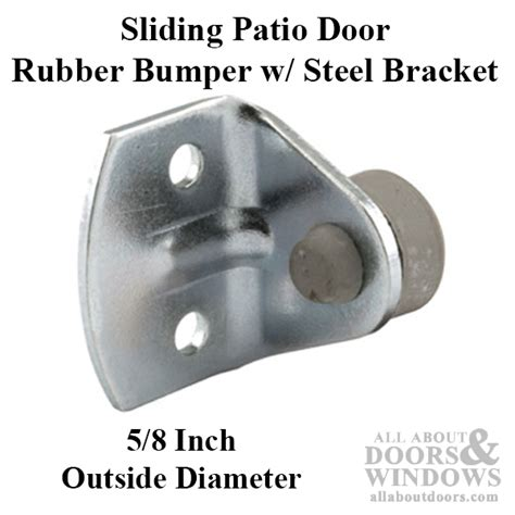 patio door bumper patio door bumper patio door 1 7 8 quot bumper sliding