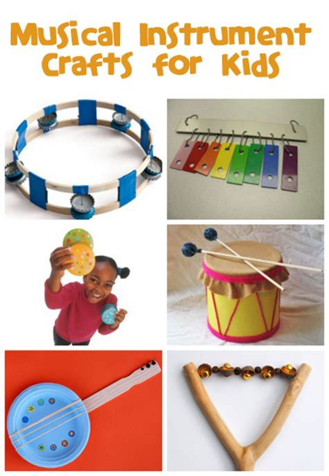musical instrument craft for musical instrument crafts family crafts
