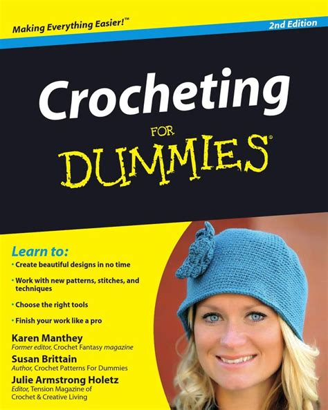 knitting for dummies free 37 best images about crochet books and magazines on