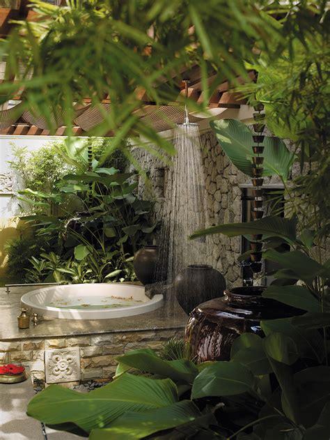 Best Bath Showers design tropical style outdoor bathroom home bathroom