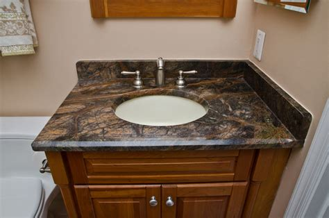 granite bathroom vanities granite bathroom vanities and tub surrounds eclectic