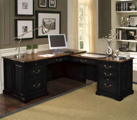 home office executive desks black executive desk home office furniture for elegance
