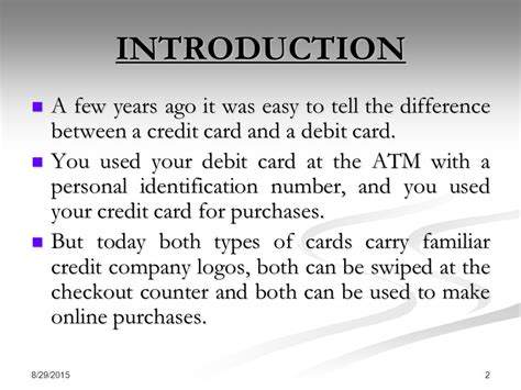 can you make purchases with a temporary debit card debit card credit card smart card ppt