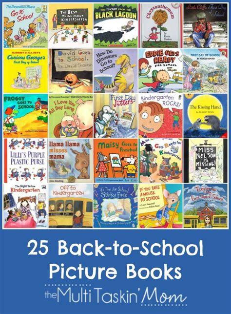 reading picture books back to school picture books with printable reading log