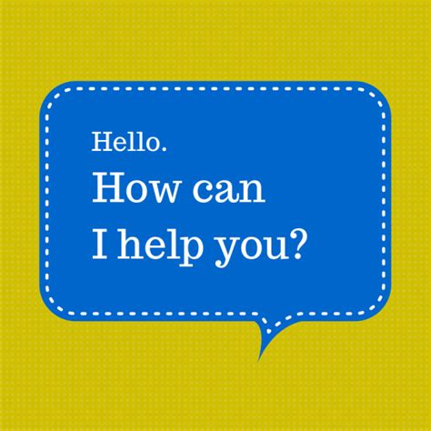 how can i the most effective websites say hello and how can i help