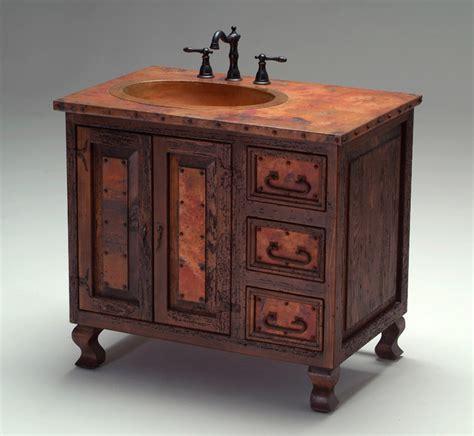 copper bathroom vanity world copper vanity mediterranean bathroom