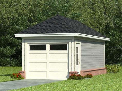 single car garage one car garage plans single car garage plan with hip