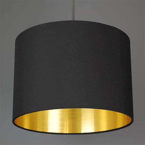 golden color shades brushed gold lined l shade choice of colours by quirk