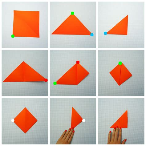 how to fold an origami origami fox origami for easy peasy and
