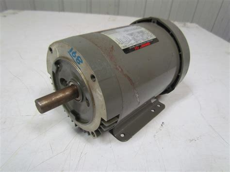 Electric Motor Frame by U S Motors F029 1hp Electric Motor 208 230 460v 3ph