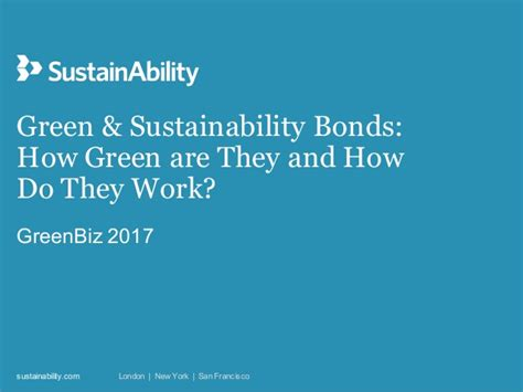 do they work greenbiz 17 workshop slides quot green and sustainability