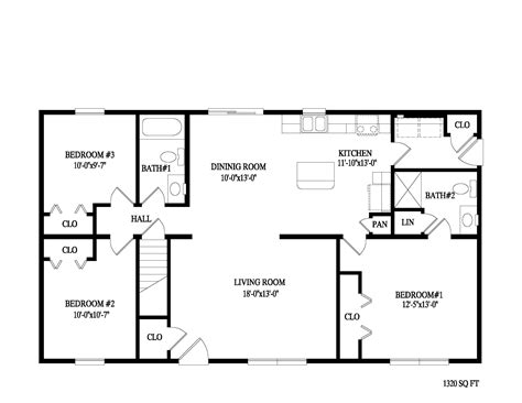 2 bedroom ranch floor plans ranch wheatfield montage mountain homes