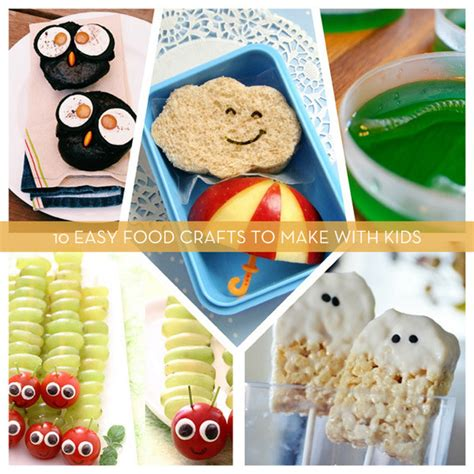 food crafts roundup 10 easy food crafts to make with curbly