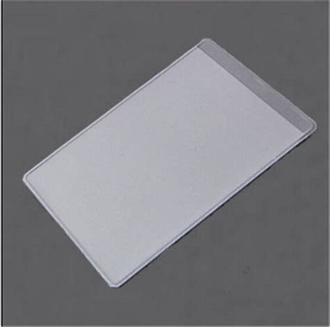 how to make card sleeves 10pcs new soft plastic clear credit card sleeves