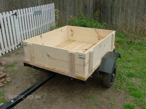 woodworking sided build wood sides utility trailer 187 woodworktips