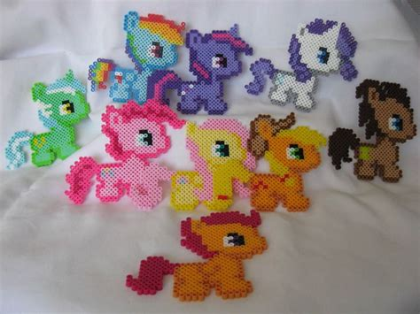 my pony perler 17 best images about perler my pony on