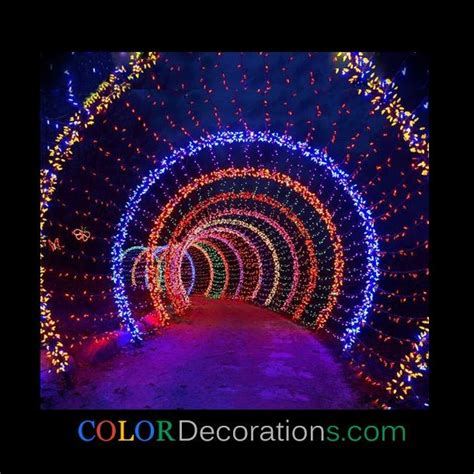 outdoor light decoration cd od107 led lighting colorful garden wooden arch outdoor