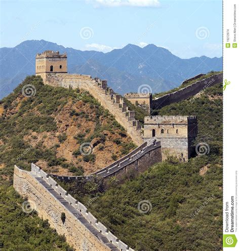 of china great wall of china jinshanling near beijing stock photo
