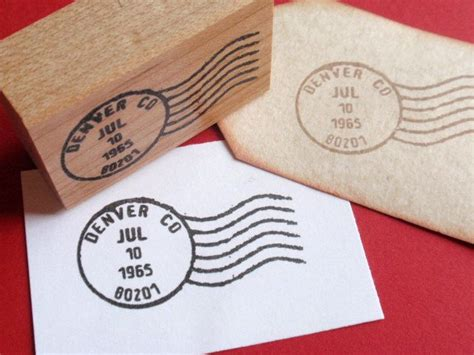 postal cancellation rubber st customized letter postmark postage cancellation
