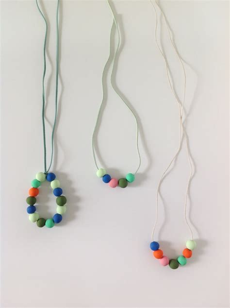 how to make jewelry with polymer clay make your own colourful polymer clay necklaces