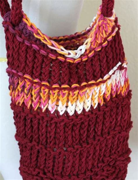 how to knit a bag on a loom the 45 best images about knitting loom purses and bags on