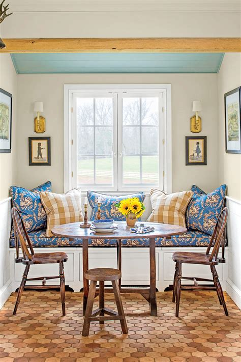 eat in kitchen decorating ideas country kitchen southern living