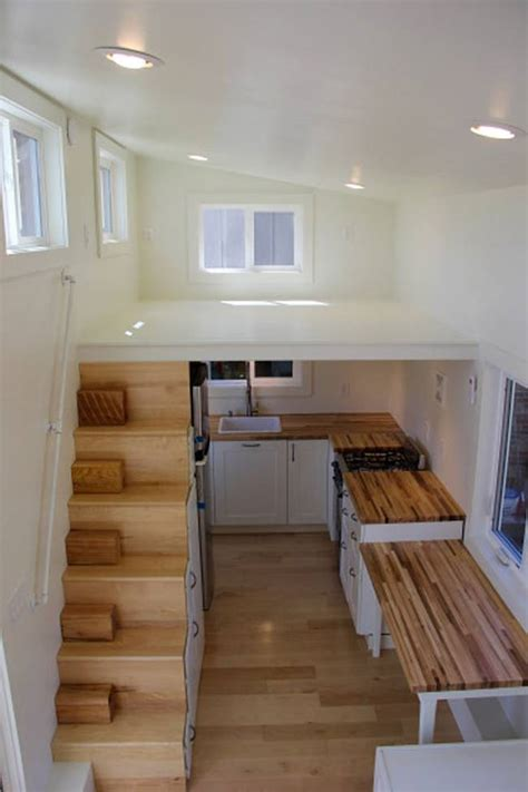 kitchen design for small houses modern tiny home boasts a big kitchen for foodies treehugger