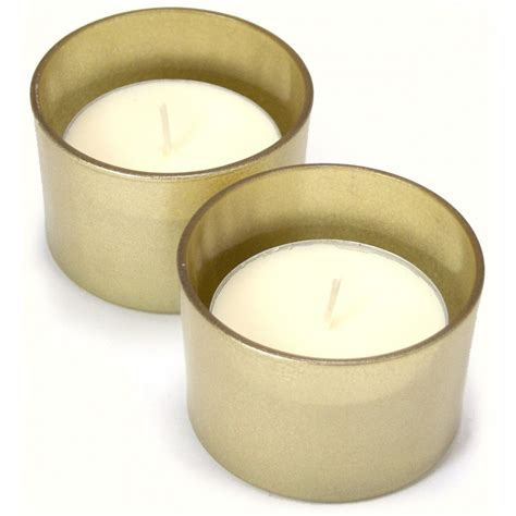 Large Candle Set by Large Tea Light Candles Gold Set Of 2 Cdn148 15