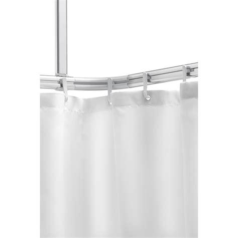 sealskin easy roll rail rideau de avec support plafond 170x80cm avec anneaux aluminium